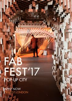 Architecture festival - fabrication and building of cardboard pavilions