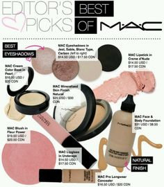 Mac make-up-I cannot live without