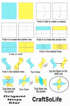 Fidget Spinner Without Any Bearings How to make origami ninja star, Origami ninja star instruction step by stepHow to make origami ninja star, Origami ninja star instruction step by step Origami Ninja Star Step By Step, Ninja Star Origami, Paper Ninja Stars, Origami Yoda, Origami Star Box, Origami Dragon, Origami Bird, Origami Animals, Origami Simple