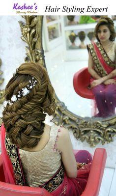103 Best Kashee S Glamorous Hair Styling Images Bridal Hair