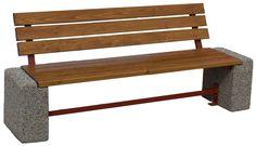 Ławka betonowa  Wysokość cakowita(cm): 80 Długość całkowita (cm): 200 Wysokość siedziska (cm): 45 Szerokość cakowita (cm): 45 Waga około 170 kg  Grubość listew(cm): 4  Części metalowe zabezpieczone farbami antykorozyjnymi lub ocynkowane  Sposób przytwierdzenia do podłoża - na kostce lub asfalcie poprzez przykręcenie kołkami rozporowymi na miękkim podłożu poprzez kotwienie specjalnych prefabrykowanych fundamentach.