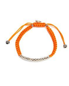 "LAGOS ""Signature Items"" Silver & Macrame Adjustable Bracelet is on Rue. Shop it now."