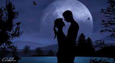 Když do života vkročí ten pravý muž | Adaline.cz Teen, Silhouette, Celestial, Love, Outdoor, Art, Ideas Para, World Most Beautiful Place, Dark Moon