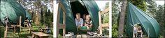 Hoog en droog overnachten in een Boomtent Camping, Bed, Unique, Nature, Campsite, Stream Bed, Outdoor Camping, Nature Illustration, Off Grid