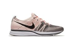 watch e69d3 946ba Nikes Flyknit Trainer Looks to a Rose Gold Colorway Nike Flyknit Trainer,  Shoes Sneakers,