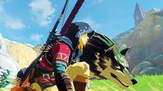 Wolf Link - Breath of the Wild