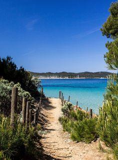Porquerolles (Îles d'Hyères) Spain Travel, France Travel, Beautiful Islands, Beautiful Places, Places To Travel, Places To See, Cancun Hotels, Beach Hotels, Beach Resorts