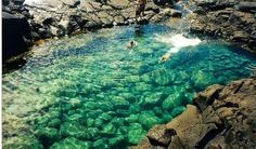 Queen Bath Kaua'i, Hawaii ~ I want to visit this location...heard it's a neat experience. ~KB