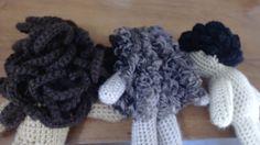 Curly Hair Yarn Doll Hair Tutorial--3 Different Styles