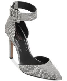 Jessica Simpson Cayna Ankle Strap Pumps | macys.com
