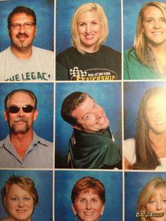 Fabulous Teacher Yearbook Photo
