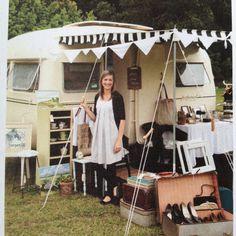 Classic caravan shop