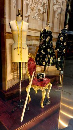 563dd3d8a8e Dolce   Gabbana s Fifth Avenue flagship store window.