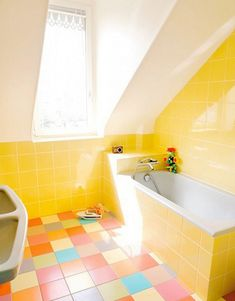 Colorful and Unique Bathroom Floor Tile Ideas | Furniture & Home Design Ideas