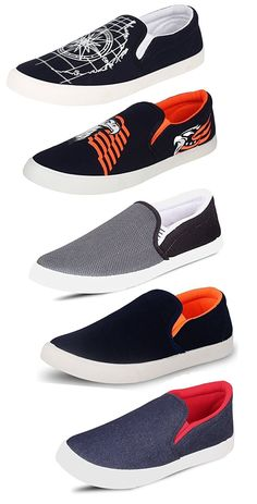Tempo Men's Combo Pack of 5 Loafers & Moccasins-$14.056
