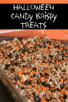 A fun spin on traditional krispy treats! Irresistible! www.littledairyontheprairie.com reminds me of Aunt Ear she used to always make rice Krispy treats when we were kids and I loved them!!