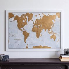 Executive world map canvas print by mapsinternationaluk on etsy scratch the world map print with coin gumiabroncs Images