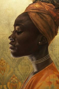 Awesome painting #art  #Blackart