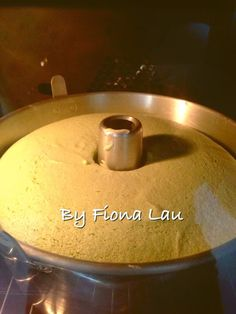 Baking's Corner AKA BC: Oil Free PANDAN CHIFFON - by Fiona Lau