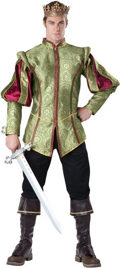 Renaissance Adult Prince Outfit Costume from Buycostumes.com