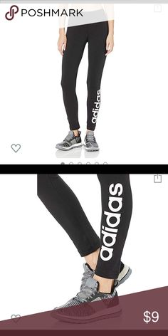 52ee2310bb88c adidas leggings suuuuper soft and worn once adidas Pants Leggings