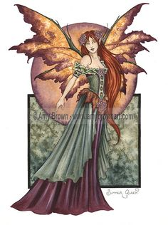 Fairy Art Artist Amy Brown: The Official Online Gallery. Fantasy Art, Faery Art, Dragons, and Magical Things Await. Amy Brown Fairies, Elves And Fairies, Dark Fairies, Autumn Fairy, Spring Fairy, Fairy Pictures, Witch Pictures, Mabon, Beautiful Fairies
