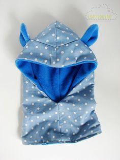Bear Hoodie Cowl/ Hooded Fleece Cowl for Kids/ Bear Ears Hood Cowl/ Boys Hood Cowl/ Winter Animal Hat Fleece Projects, Sewing Projects, Sewing Clothes, Diy Clothes, Hooded Cowl, Kids Winter Fashion, Altering Clothes, Kids Hats, Baby Sewing