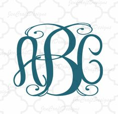 Exclusive Classy Vine locking Monogram Alphabet svg Upper & Lower Cutting File- SVG EPS Dxf Cut Files A-Z Alphabet Shilhouette and Cricut Ds Vine Monogram, Monogram Alphabet, Monogram Fonts, Cricut Fonts, Cutting Tables, Cricut Design, Ds, Silhouette Cameo, Vines