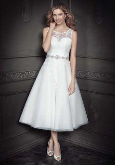 Kenneth Winston: Ella Rosa Collection BE341 A-Line Wedding Dress