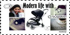 """Así es la """"Modern life"""" para AzaharaJS en su #Moodboard con Bugaboo #Bee #negro para #quieroserembajador #atodocolor #bugabooespana @BugabooEs @Madresfera"""