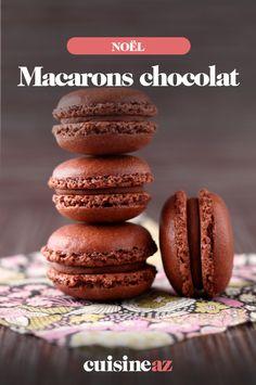 Macarons chocolat – Famous Last Words Salted Caramel Macaron, Nutella Macarons, Vegan Macarons, Pistachio Macarons, French Macarons Recipe, Vanilla Macarons, Macaron Filling, Macaron Flavors, Buttercream Filling