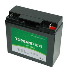 12V20Ah TOPBAND LiFePO4 lithium battery