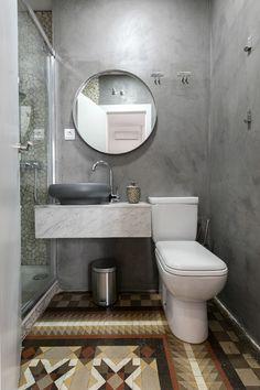 Aseo con ducha en poco espacio (Madrid).  - AD España, © Lupe Clemente