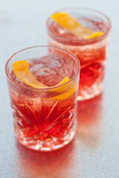 Negroni 'On Tap' Serves 1 -- 1 part Beefeater Gin  -- 1 part Campari  -- 1 part Rosso Vermouth