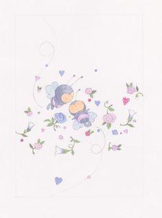 Annabel Spenceley - Flowery Bees