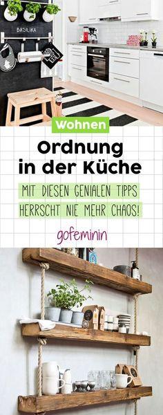 48 besten Ordnung in der Küche Bilder auf Pinterest | Küchenmöbel ...