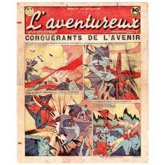 L'aventureux 1ère Année 1936 N° 9 : Conquérants De L'avenir