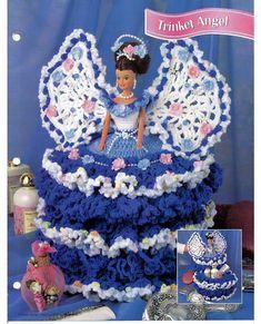 Trinket Angel    Annies Fashion Doll Crochet by grammysyarngarden