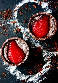 Chocolate Raspberry Tarte Bourdaloue (Pear Tart) Recipe