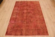 Vintage Overdyed Rug Orange