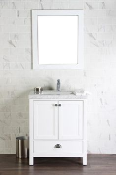 "30 Bathroom Vanity With Top Canada brezza 30"" black, frosted glass bathroom vanity - the vanity store"