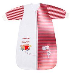 Winter Baby Sleeping Bag Long Sleeves approx. 3.5 Tog - Fire Engine - 0-6 months/28inch - $39.99