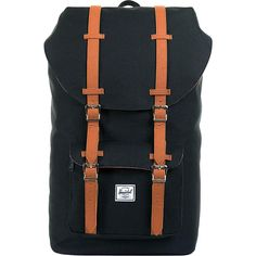 Buy the Herschel Supply Co. Little America Laptop Backpack at eBags - Hit the road with your essentials packed inside this streamlined backpack from Herschel.  The Hersch