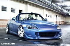 Honda s2000 Suzuka Blue