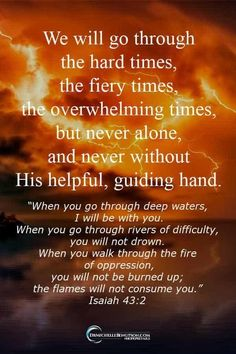 God Gave Me More Than I Could Handle We will go through the hard times but never alone or without His helpful, guiding hand.We will go through the hard times but never alone or without His helpful, guiding hand. Biblical Quotes, Religious Quotes, Bible Verses Quotes, Spiritual Quotes, Faith Quotes, Trust In God Quotes, Quotes Quotes, Bible Quotes For Teens, Qoutes