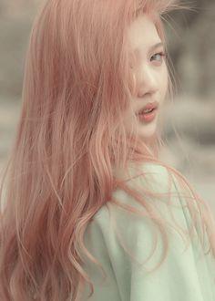 Pink hair Renee walker