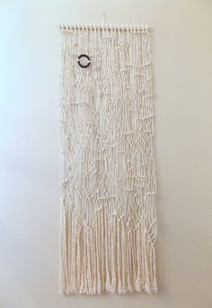 Macrame Wall Hanging Random Thoughts no.2 by HIMO ART by HIMOART, $228.00
