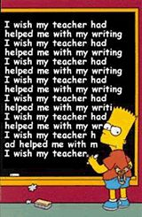 Matt Groening, creator of The Simpsons, is a fellow lefty and he made his lead character Bart Simson left-handed as well.