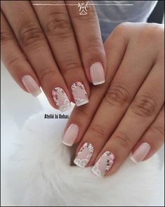 130 nail designs that are so perfect for summer 2019 page 27 nail design 2019 - Nail Desing Acrylic Nail Designs, Nail Art Designs, Acrylic Nails, Toe Nails, Pink Nails, Nail Nail, Stiletto Nails, Gorgeous Nails, Pretty Nails