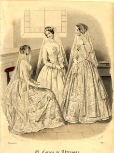 Brautmode, Winter 1847